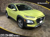 Lime 2018 Hyundai Kona Ultimate FWD 7-Speed Automatic