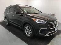Black 2018 Hyundai Santa Fe SE FWD 6-Speed Automatic