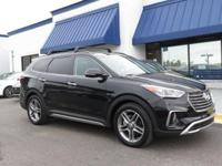 New Price! Black 2018 Hyundai Santa Fe Limited Ultimate