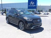 2018 Hyundai Santa Fe Limited Ultimate AWD, Black