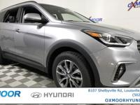 2018 Hyundai Santa Fe SE Gray w/Leather Seating