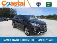 Black 2018 Hyundai Santa Fe Limited Ultimate FWD