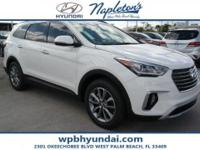 2018 Hyundai Santa Fe SE Ultimate White Cloth.  Call or