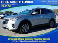 2018 Hyundai Santa Fe SE Ultimate  in Frost and 20 year