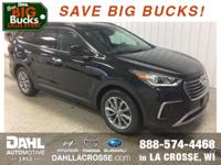 2018 Hyundai Santa Fe SE Becketts Black Factory MSRP: