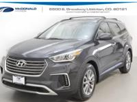 New Price! Gray 2018 Hyundai Santa Fe SE AWD 6-Speed