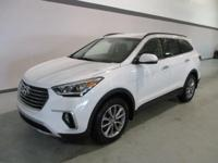 2018 Hyundai Santa Fe SE Ultimate White WITH SOME