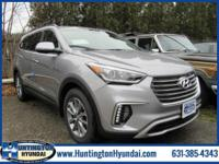 Gray 2018 Hyundai Santa Fe SE AWD 6-Speed Automatic