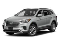 This 2018 Hyundai Santa Fe SE is proudly offered by