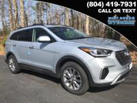2018 Hyundai Santa Fe SE  Options:  3.041 Axle