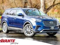 Sky 2018 Hyundai Santa Fe SE FWD 6-Speed Automatic with