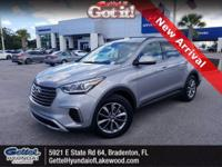 Certified. This 2018 Hyundai Santa Fe SE in Iron Frost