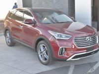 Red 2018 Hyundai Santa Fe Limited Ultimate AWD 6-Speed