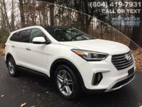 2018 Hyundai Santa Fe SE Ultimate  Options:  3.041 Axle