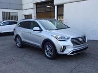 Silver 2018 Hyundai Santa Fe AWD 6-Speed Automatic with