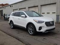 White 2018 Hyundai Santa Fe AWD 6-Speed Automatic with