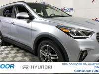 2018 Hyundai Santa Fe SE Ultimate AWD, Gray w/Leather