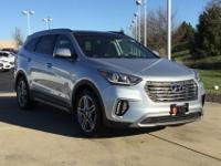 Silver 2018 Hyundai Santa Fe Limited Ultimate AWD