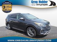 Pearl 2018 Hyundai Santa Fe Limited Ultimate AWD