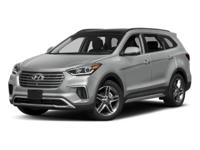 New Price! Frost 2018 Hyundai Santa Fe Limited Ultimate