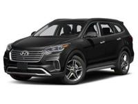2018 Hyundai Santa Fe Limited Ultimate Black  AWD,