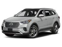 2018 Hyundai Santa Fe Limited Ultimate Silver  AWD,