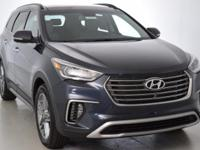 This 2018 Hyundai Santa Fe Limited Ultimate in Pearl