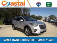 Silver 2018 Hyundai Santa Fe FWD 6-Speed Automatic with