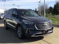 Pearl 2018 Hyundai Santa Fe SE Ultimate FWD 6-Speed