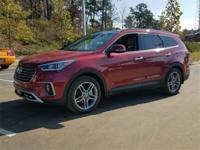Red 2018 Hyundai Santa Fe SE Ultimate FWD 6-Speed