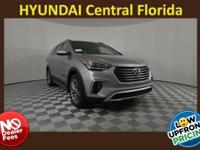 NO DEALER FEE! Frost 2018 Hyundai Santa Fe Limited