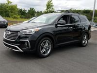 Black 2018 Hyundai Santa Fe SE Ultimate FWD Automatic