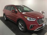 Red Pearl 2018 Hyundai Santa Fe SE Ultimate FWD