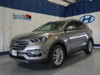 Gray 2018 Hyundai Santa Fe Sport 2.0L Turbo AWD 6-Speed