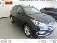 $4,115 off MSRP! Twilight Black 2018 Hyundai Santa Fe