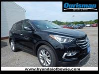 Twilight Black 2018 Hyundai Santa Fe Sport 2.0L Turbo