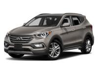 Factory MSRP: $34,525 2018 Hyundai Santa Fe Sport 2.0L