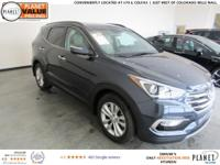 $4,198 off MSRP! Marlin Blue 2018 Hyundai Santa Fe