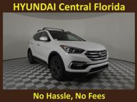 NO DEALER FEE! 27/20 Highway/City MPG Frost White 2018