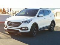 Blue 2018 Hyundai Santa Fe Sport 2.0L Turbo Ultimate