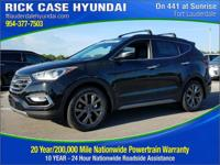 2018 Hyundai Santa Fe Sport 2.0T Ultimate  in Twilight