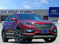 New Price! Serrano Red 2018 Hyundai Santa Fe Sport 2.0L