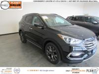 $4,372 off MSRP! Twilight Black 2018 Hyundai Santa Fe