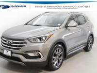 Gray 2018 Hyundai Santa Fe Sport 2.0L Turbo Ultimate