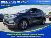 2018 Hyundai Santa Fe Sport 2.4 Base  in Platinum and