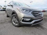 EXCLUSIVE LIFETIME WARRANTY!!. 2018 Gray Hyundai Santa