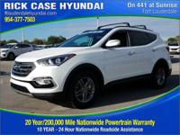 2018 Hyundai Santa Fe Sport 2.4 Base  in White Pearl