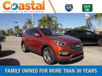 Brown 2018 Hyundai Santa Fe Sport 2.4 Base FWD 6-Speed