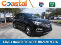 Black 2018 Hyundai Santa Fe Sport 2.4 Base FWD 6-Speed