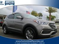 Check out this gently-used 2018 Hyundai Santa Fe Sport